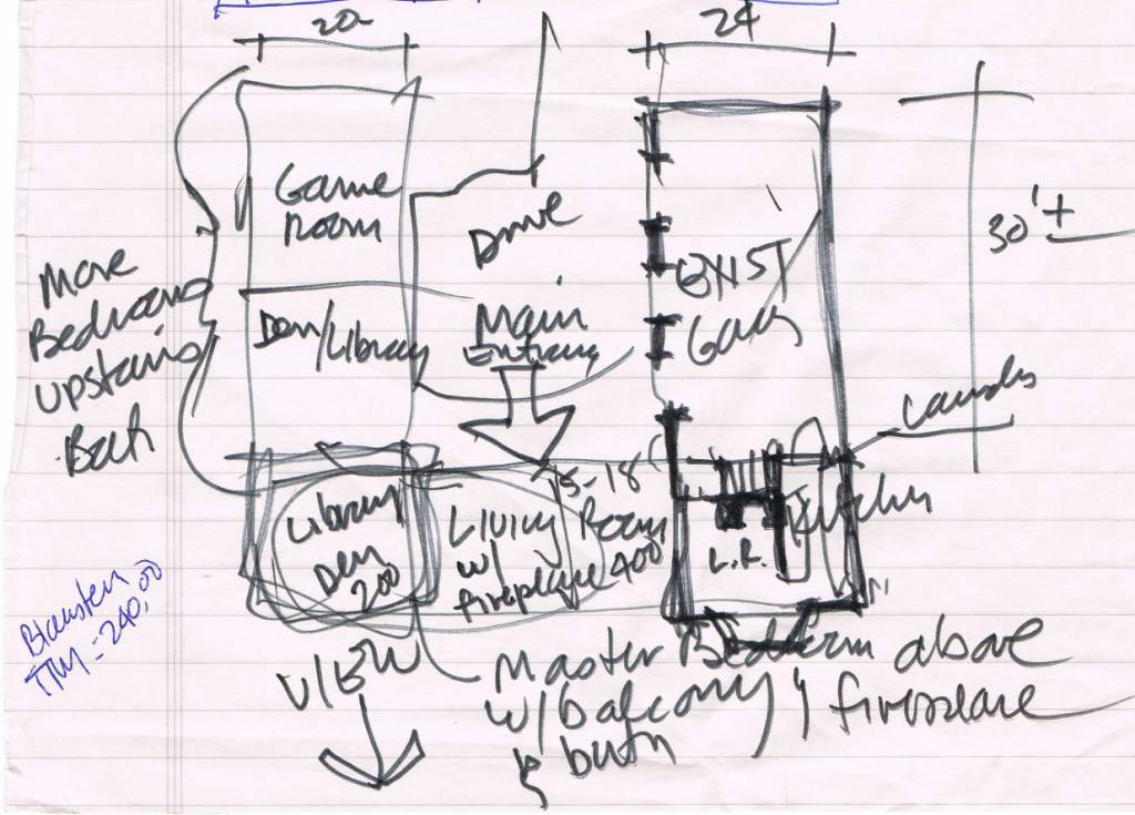 Concept sketch plan jeffrey a lees aia architect - How to build a floor for a house concept ...